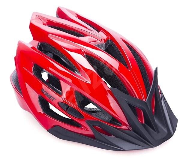 Romet 151 červená L - Helma na kolo