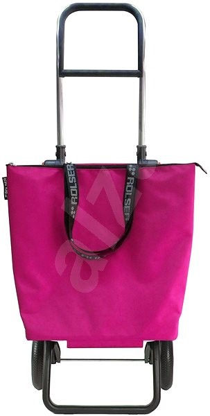 Rolser Mini Bag Plus MF Fuchsia - Taška na kolečkách