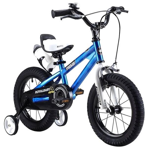 "RoyalBaby Freestyle 16 ""blue - Children's Bike"