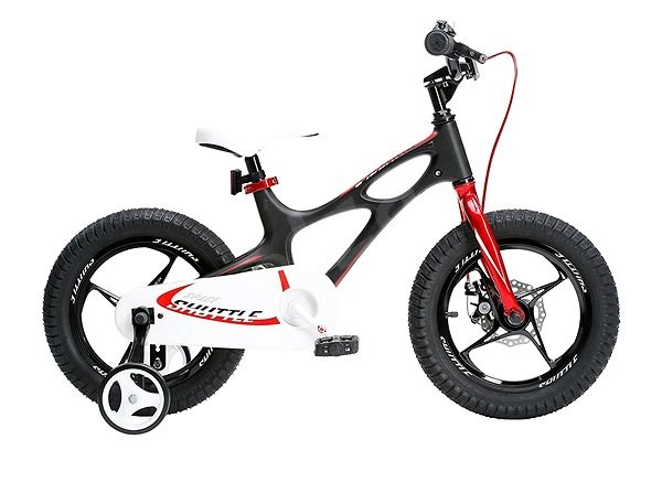 "RoyalBaby Space Shuttle 16 ""black - Children's Bike"