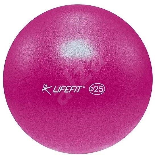Lifefit overball 25cm, bordó - Gymnastický míč