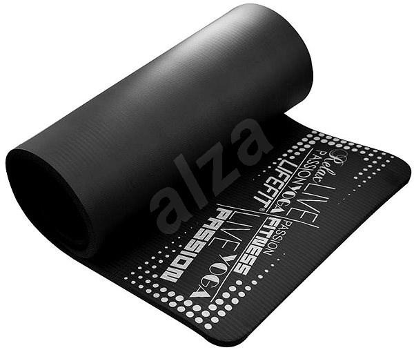 Lifefit Yoga Mat Exkluziv plus černá - Podložka na cvičení