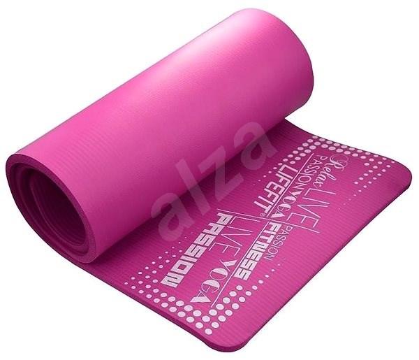 Lifefit Yoga Mat Exkluziv plus bordó - Podložka na cvičení