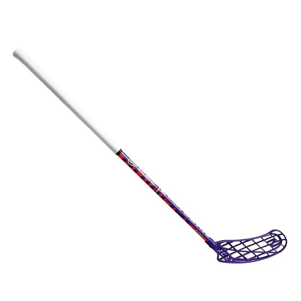 Salming Aero Z 32 Violet vel.87 cm pravá - Florbalová hůl