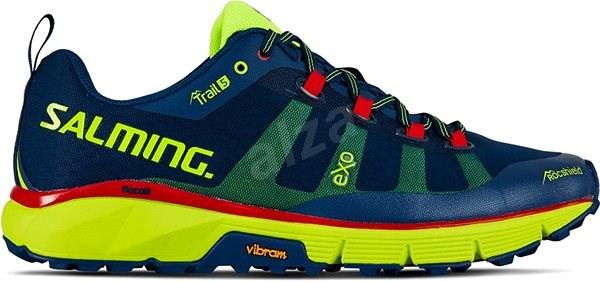 Salming Trail 5 Men Poseidon Blue / Safety Yellow 48 2/3 EU / 315mm - Running shoes