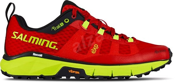 Salming Trail 5 Women Poppy Red/Safety Yellow 39 1/3 EU / 250 mm - Běžecké boty