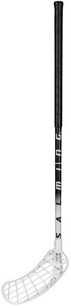 SALMING Quest2 Mid Black/White, 77 (88 L) - Florbalka