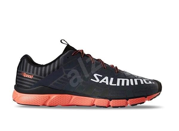 Salming Speed 8 Men Grey/Orange EU 45,33 / 290 mm - Běžecké boty