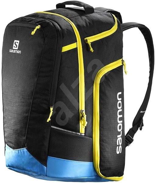 Salomon Extend Go-To-Snow Gear Bag Black/Blue/Ye - Sportovní taška