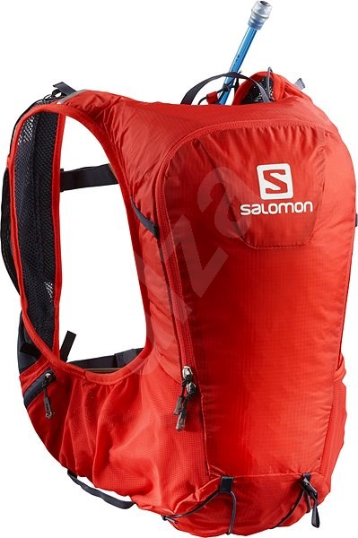 1b52b4138f Salomon Skin Pro 10 Set Fiery Red Graphite - Sportovní batoh