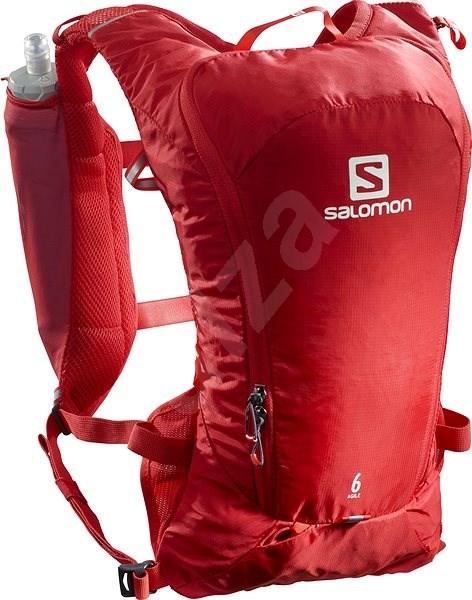 Salomon AGILE 6 SET Goji Berry - Sports Backpack