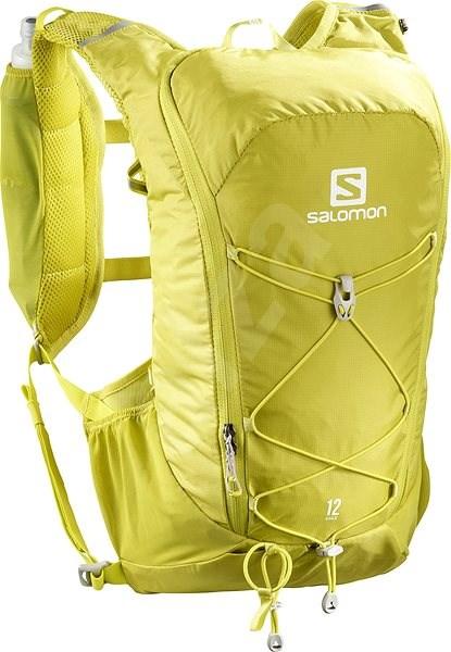 Salomon AGILE 12 SET-Citronelle-Sulphu - Sports Backpack