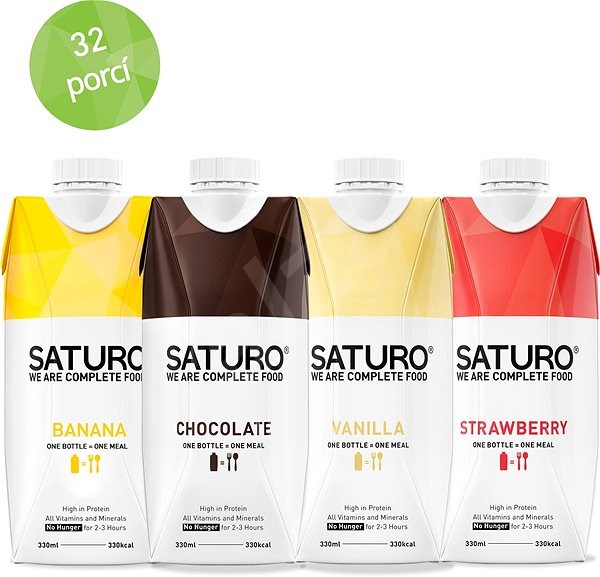 Saturo Taster Pack - Trvanlivé jídlo