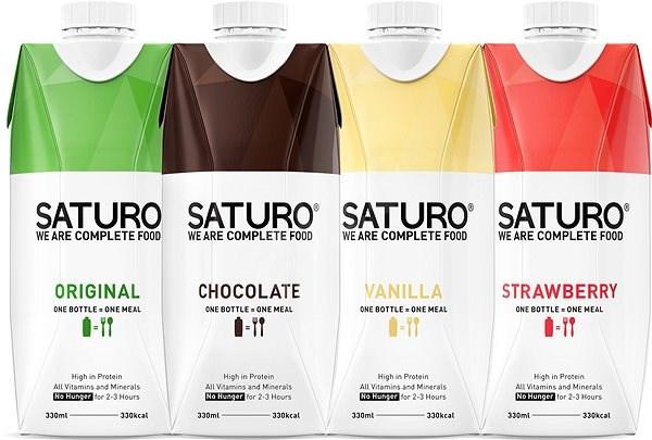 Saturo Starter Box - Trvanlivé nutričně kompletní jídlo