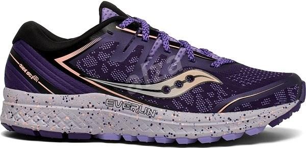 Saucony GUIDE ISO 2 TR fialová - Běžecké boty