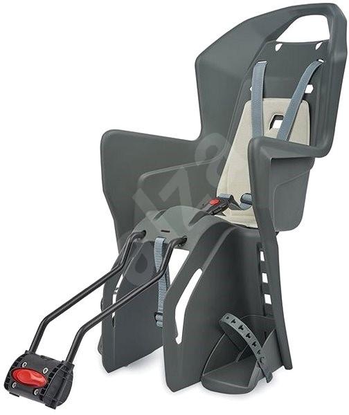 """Polisport Koolah 29"""" tmavěšedo-krémová - Dětská sedačka na kolo"""