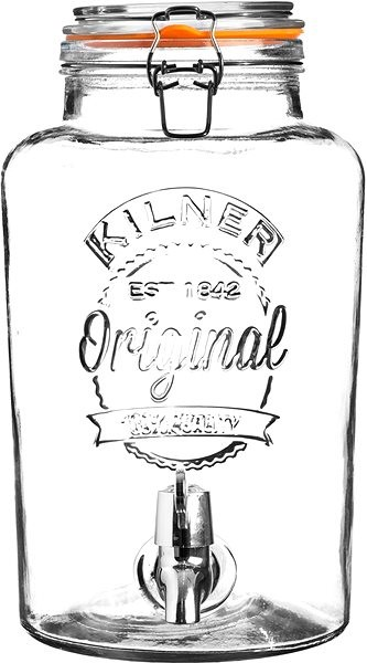 KILNER Skleněný nápojový automat 8l klasický - Nápojový automat