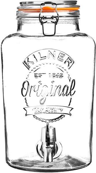 KILNER Skleněný nápojový automat 5l klasický - Nápojový automat