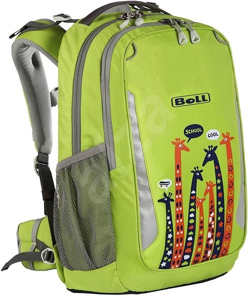 Boll School Mate 18 Giraffe Lime - Školní batoh  7173b79661