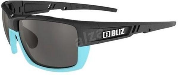 Bliz Tracker Ozon Black/Turqouise Smoke w Silver Mirror + Orange - Lyžařské brýle