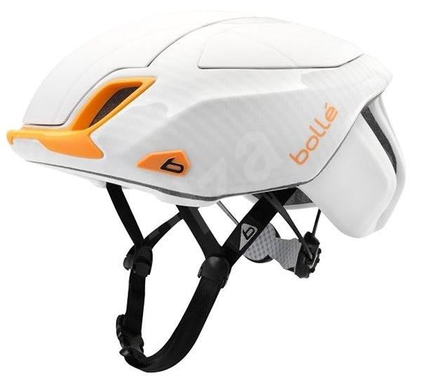 Bollé The One Road Premium White/Orange, velikost ML 58-62 cm - Helma na kolo