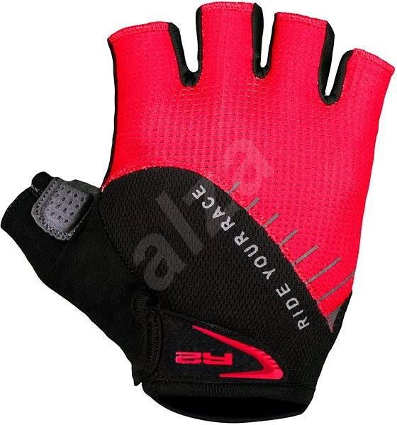 R2 Vouk černá, červená XL - Cyklistické rukavice