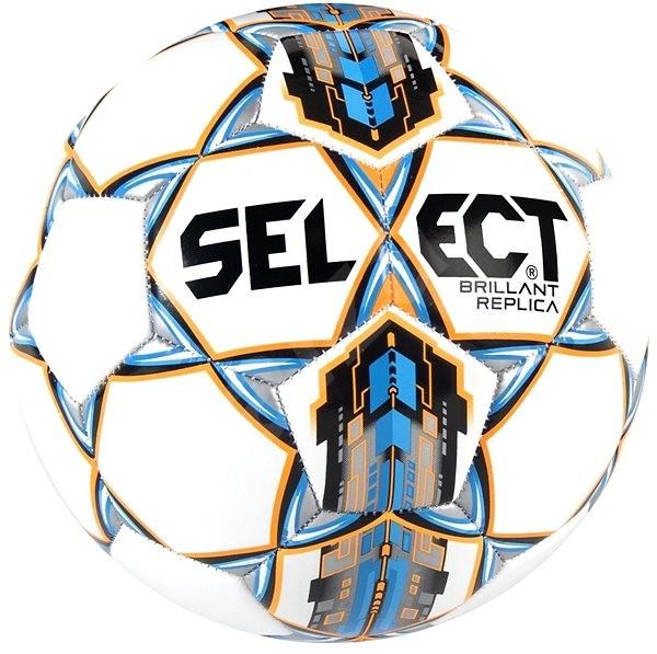 Select Brillant Replica bílo - modrá vel.5 - Fotbalový míč  934a3d22ac