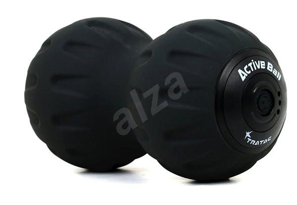 Tratac Active Ball, dvojitý vibrační masážní míč, černý - Masážní míč