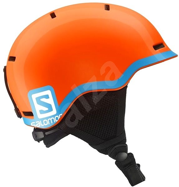 Salomon Grom Fluo Orange/Blue vel. M - Lyžařská helma