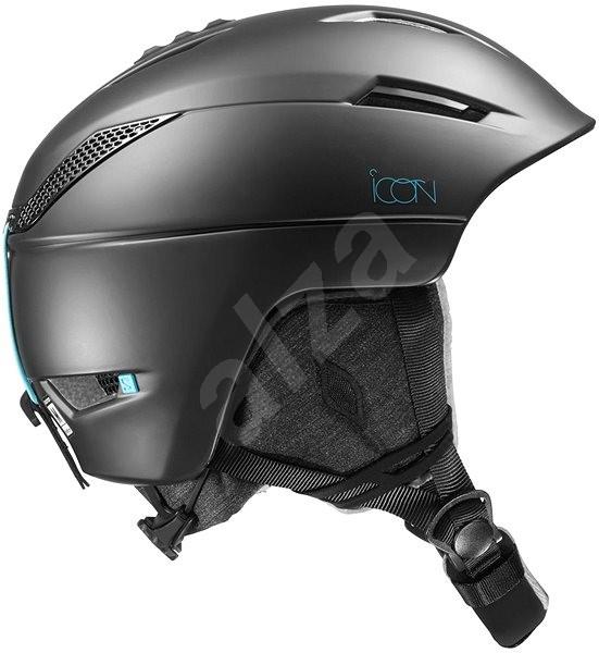 Salomon Icon2 M Black vel. S (53-56 cm) - Lyžařská helma