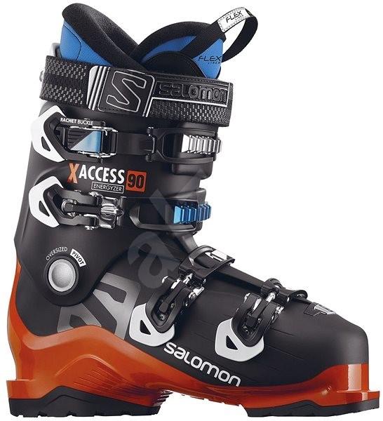 cda80a814f5 Salomon X Access 90 Black Orange Indigo Blue vel. 43 EU   275. PRODEJ  SKONČIL. Pánské lyžařské boty ...