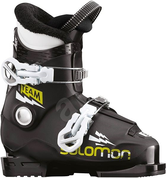 Salomon Team T2 Black Acid Green Wh vel. 31 EU  190 mm - Lyžařské ... fd704202e6