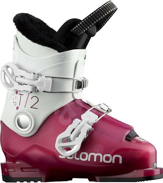Salomon T2 Rt Girly Pink/Wh vel. 32 EU/ 200 mm - Lyžařské boty