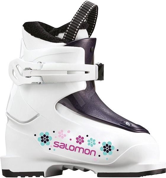 Salomon T1 Girly White/Rose Violet Tr vel. 26 EU/ 160 mm - Lyžařské boty