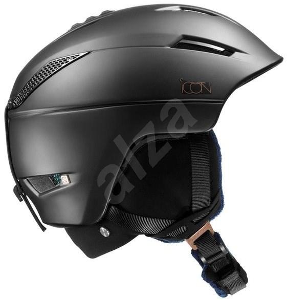Salomon  Icon2 C.Air Black vel. S (53-56 cm) - Lyžařská helma
