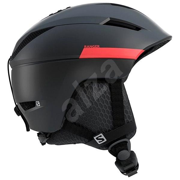 Salomon  Ranger2 M Black/Red Accent vel. S (53-56 cm) - Lyžařská helma