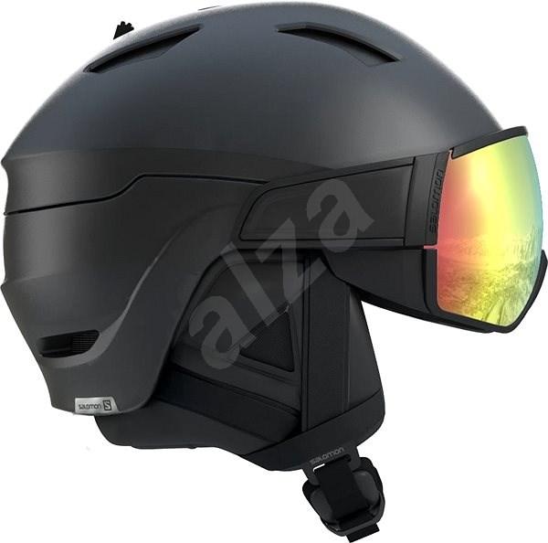 Salomon  Mirage+ Photo Bk/Rose Gold/Aw vel. M (56-59 cm) - Lyžařská helma