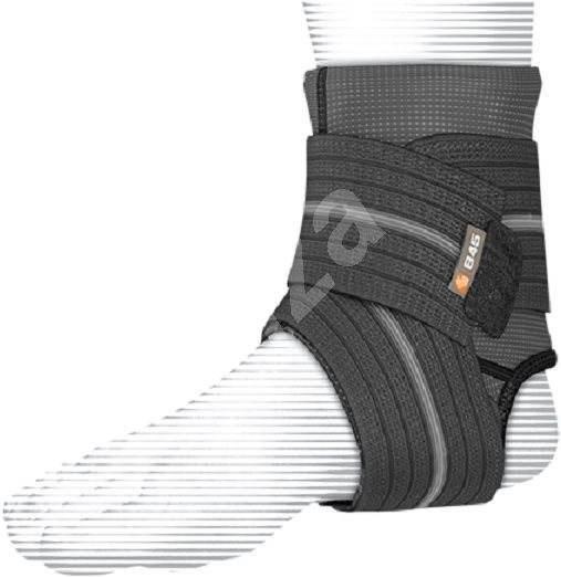 Shock Doctor Ankle Sleeve With Compression Wrap Support Black XL - Ortéza na kotník