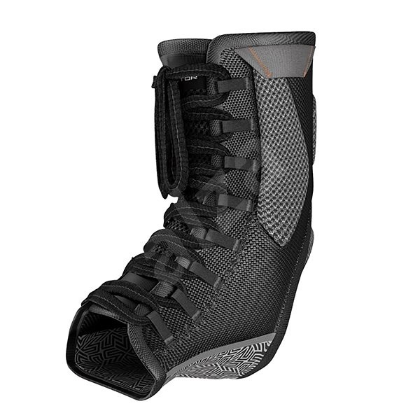 Shock Doctor Ultra Gel Lace Ankle Support Black XL - Ortéza na kotník
