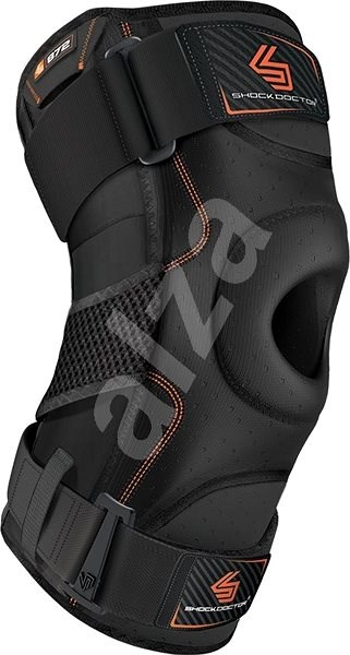 Shock Doctor Knee Support With Dual Hinges Black XXL - Ortéza na koleno