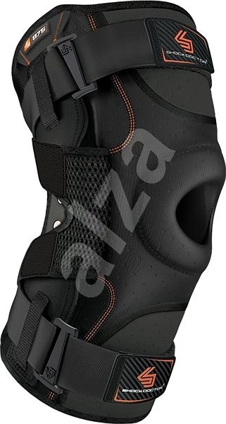 Shock Doctor Ultra Knee Support With Bilateral hinges Black XXL - Ortéza na koleno