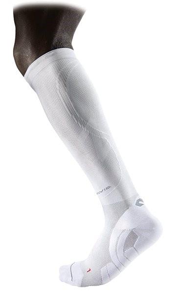 McDavid ELITE Compression Team Socks, bílá L - Ponožky