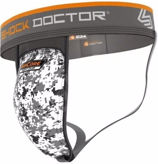 Shock Doctor suspenzor se Soft Cup vložkou 234, bílá XL - Suspenzor