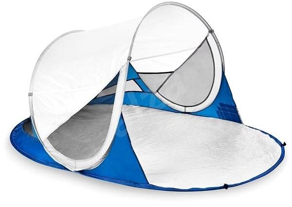 Spokey Stratus bílo-modrý - Plážový stan