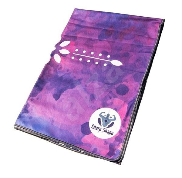 Sharp Shape Yoga Microfibre towel Lotos - Ručník