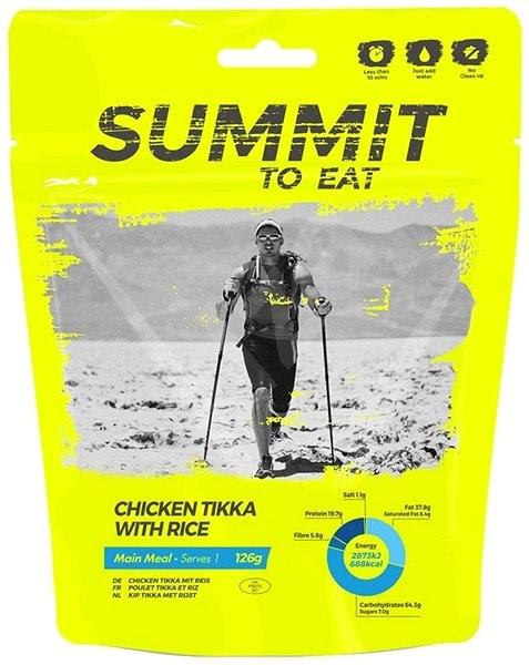 Summit To Eat - Kuře Tikka s rýží - Trvanlivé jídlo