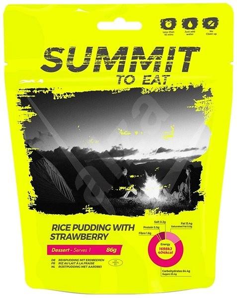 Summit To Eat - Rýžový nákyp s jahodami - MRE