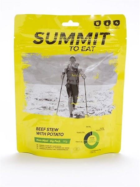 Summit To Eat - Dušené hovězí ve vlastní šťávě s bramborem - big pack - MRE