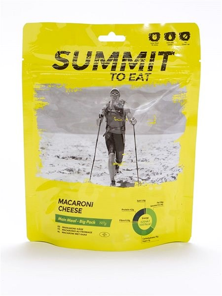 Summit To Eat - Makarony se sýrem - big pack - MRE