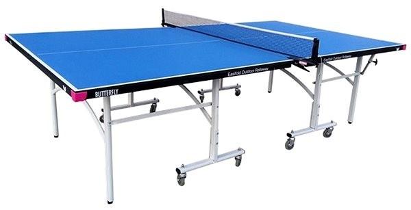 Butterfly Easifold Outdoor modrý - Stůl na stolní tenis